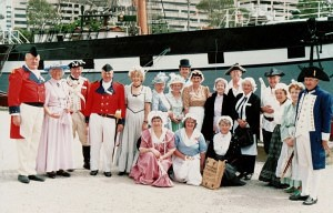 Australia Media Launch Polly Woodside Maritime Museum 23 January 1991 (H Timbury)