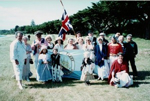 Re-enactment 'Commemorating the people of 1803 Sorrento Beach 190th anniversary 7-10 October 1993