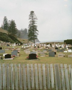 Norfolk Island Cemetery where Bartholomew Reardon and his children were buried (H Timbury)