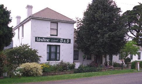 'Undine' Tasmania - to former home of John and Hannah Beresford