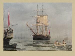 Convict Transport 'Charlotte' (Marine Artist Frank Allen)