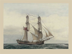 Convict Transport 'Friendship' (Marine Frank Allen)