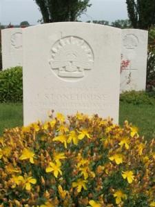 John Stonehouse Grave Belgium (D McGuiness)