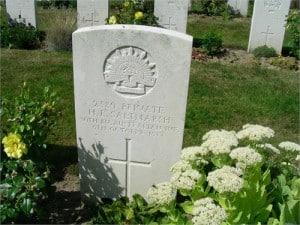 Grave - Horace Saltmarsh