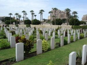 Chatby War Memorial Cemetery, Alexandria Egypt