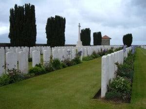 Vaulx Cemetery France