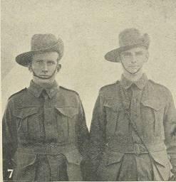 John Davis Stacey with brother Robert Edward Stacey