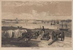 Dawes Battery Sydney NSW 1842 (JS Prout)