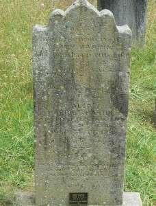 Martin Grave, St Johns, Parramatta NSW (D Martin)