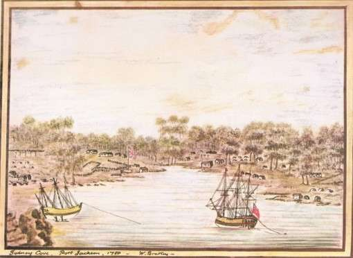 Sydney Cove, Port Jackson, 1788 (William Bradley)