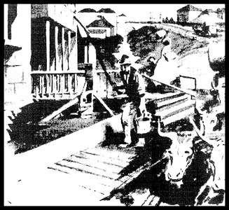 Image of the Tank Stream (The Sydney Morning Herald 2 October 1954)