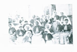 Unknown Nursing Sisters, except Sara Williams first in second row front right (courtesy Rosemary Smith)