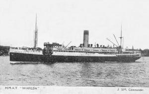 HMAT Warilda