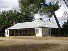 Riversdale, Goulburn NSW, built by John Richards 1840.  Mary spent her last years in Riversdale